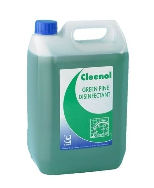 CLEENOL-GREEN-PINE-DISINFECTANT-MULTI-SURFACE-USE-2-x-5-LITRES-201472758070