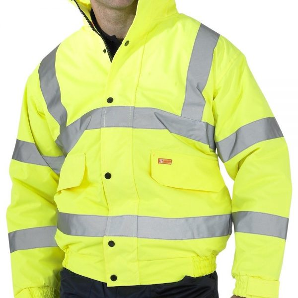 BEESWIFT-CONSTRUCTOR-BOMBER-JACKET-HI-VIS-YELLOW-CBJENGSY-MED-2XL-180941896581
