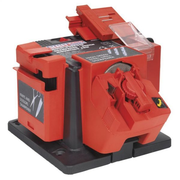 SEALEY-SMS2004-MULTIPURPOSE-SHARPENER-BENCH-MOUNTING-65W-DRILL-BITSCHISELS-201622486971