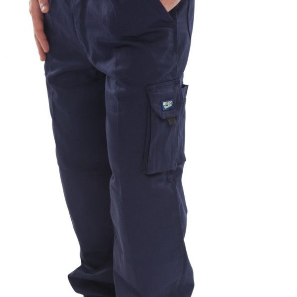 BEE-SWIFT-CLICK-TRADERS-NEWARK-WORK-TROUSERS-NAVY-SIZE-36-40-WAIST-360477231112