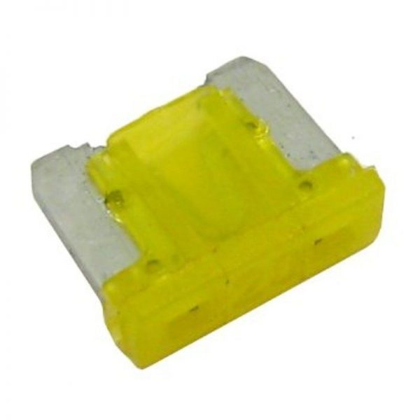 AUTOMOTIVE-LOW-PROFILE-MINI-BLADE-FUSES-20AMP-RATED-QTY-25-361416818913