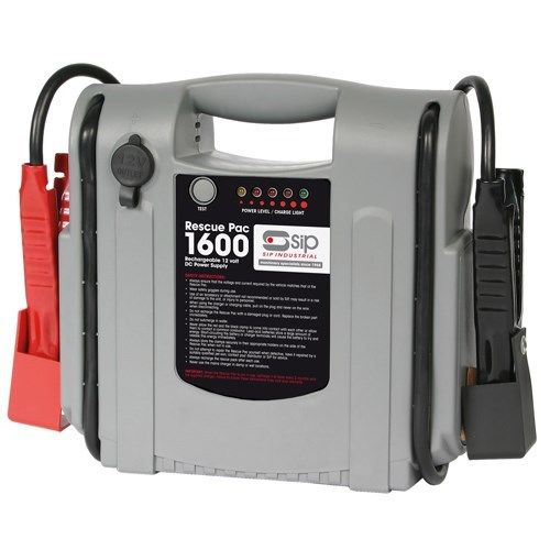 SIP-03936-RESCUE-PAC-1600-BATTERY-BOOSTER-CHARGER-12V-22AH-BATTERY-CAPACITY-182204553193