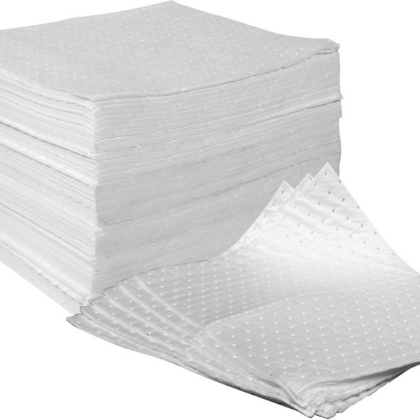 FENTEX-OB100M-OIL-ONLY-DOUBLE-WEIGHT-ABSORBENT-SPILL-PADS-x-100-PADS-201153061144