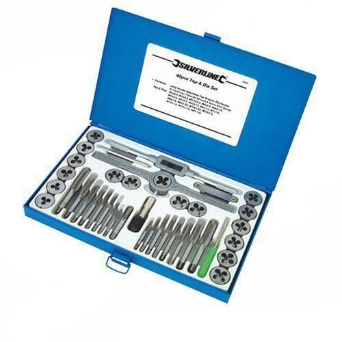 silverline metric tap u0026 die set
