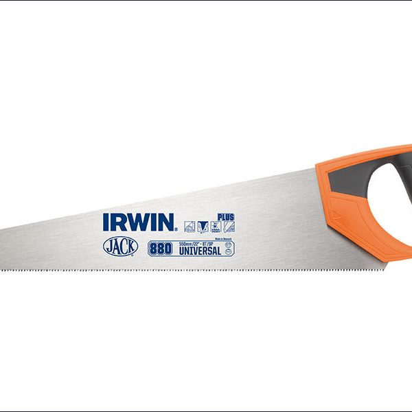 IRWIN-880UN-UNIVERSAL-PANEL-SAW-SOFT-GRIP-HANDLE-550mm-22in-8tpi-361806468037