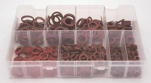 A01530-ASSORTED-BOX-RED-FIBRE-WASHERS-IMPERIAL-SIZES-QTY-610-360274822569