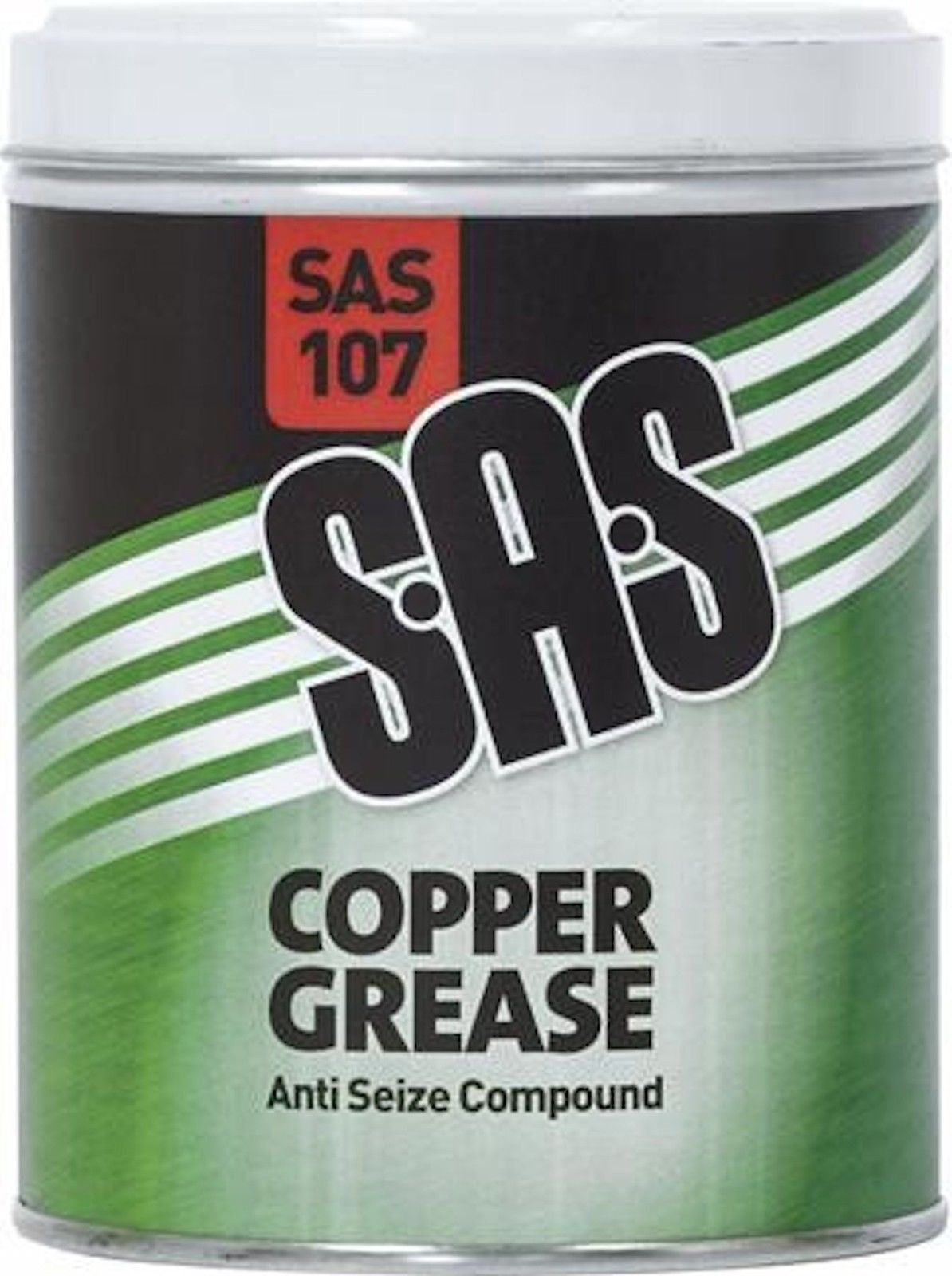 SAS COPPER GREASE ANTI SEIZE COMPOUND SAS107 1 x 500G TIN | Clarik