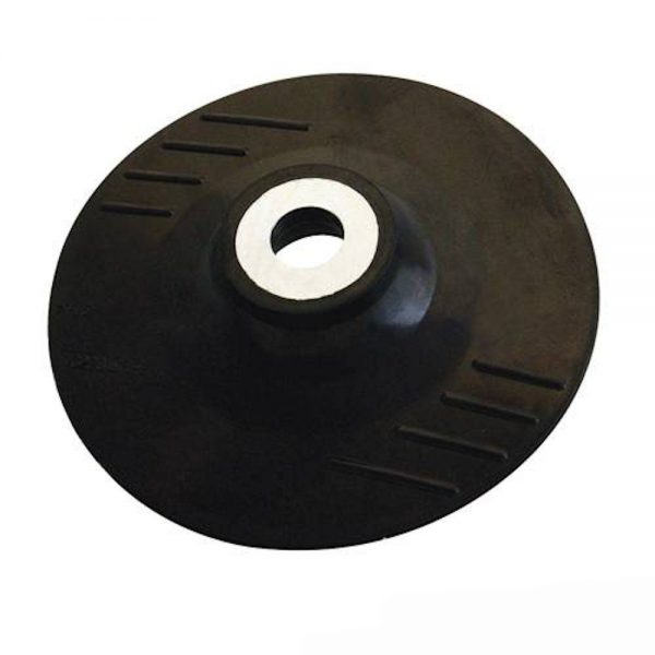 SILVERLINE-941859-ANGLE-GRINDER-RUBBER-BACKING-PAD-FOR-FIBRE-DISC-115MM-M14-x-2-360835944919